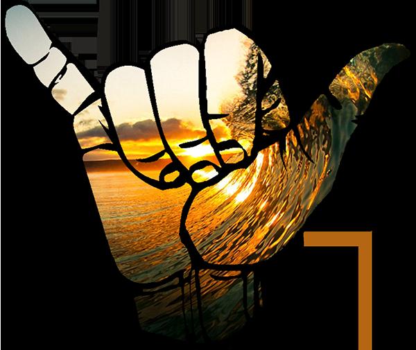 Shaka Bowl Hand Logo